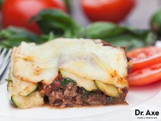 This Zucchini Lasagna Recipe is grain free, healthy and delicious! Try this little twist on a classic recipe.