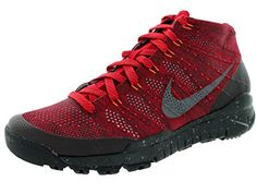 Nike Mens Flyknit Trainer Chukka Fsb Gym RdSlDp BrgndyHypr Crmsn Training Shoe 12 Men US >>> Read more reviews of the product by visiting the link on the image.