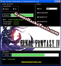 final fantasy IV android hack