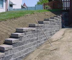 driveway retaining walls | Retaining Walls > Versa-Lok > Slate Blend >…