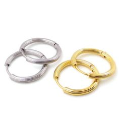 Find More Hoop Earrings Information about 21mm New Arrival 2016yr Charm Jewelry Gold Plated Stainless Steel Women Circle Hoop Earrings Wedding Engagement Lovers Gift,High Quality earrings zirconia,China jewelry chinese Suppliers, Cheap earring gauges from MSX Fashion Jewelry on Aliexpress.com
