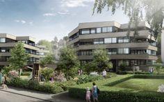 Nouveau complexe résidentiel «Im Holeegarten» - Burckhardt+Partner