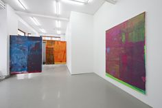 Alex Hubbard at Standard (Oslo) Contemporary Art Daily, Contemporary Abstract Art, Art Attack Ideas, Painters Studio, Large Artwork, Abstract Painters, American Art, Art Pictures, Amazing Art