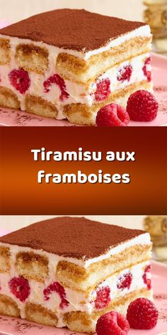 Desserts With Biscuits, Italian Desserts, Köstliche Desserts, Healthy Dessert Recipes, Tiramisu Dessert, Quick And Easy Sweet Treats, Desert Recipes, Sweet Recipes, Food And Drink