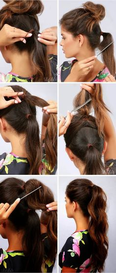 How-To: Longer & Thicker Ponytail