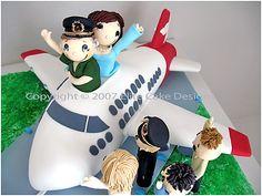 Qantas Pilot Novelty Cake by EliteCakeDesigns Sydney