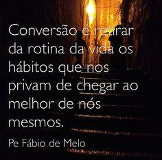Conversão Pe. Fabio de Melo
