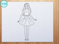 How To Draw Barbie Face Kids Art Hub In 2019 Pinterest