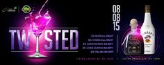 """This Chameleon Saturday at Coco Lounge (08.08.15) we present """"Twisted!"""" 