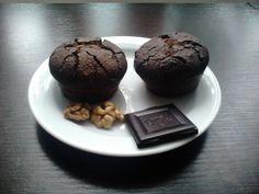 Čokoládové muffiny s vlašskými ořechy - 365PALEO Paleo, Cookies, Chocolate, Breakfast, Desserts, Food, Crack Crackers, Morning Coffee, Tailgate Desserts
