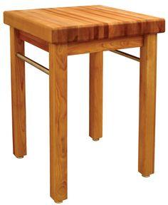 Kitchen Utility Table in. Butcher Block Top 2 Towel Bar 4 Leveler Feet Wood for sale online Modern Rustic Furniture, Steel Furniture, Dining Furniture, Furniture Decor, Pallet Furniture, Furniture Market, Furniture Design, Buy Furniture Online, Cheap Furniture