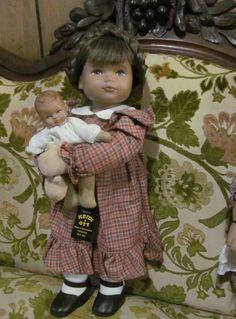 LUCIE and BABY Original Heidi Ott Doll Limited ReVintageLannie.Etsy.com