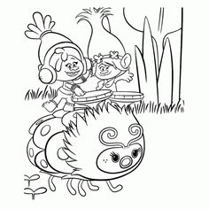 Trolls Printable Activities For Kids Online Coloring Book 9 Pages See More Top 15