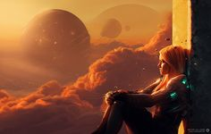 It's hard to split Fantasy from Science Fiction, especially when you consider a franchise like Star Wars, which has elements of Fantasy (mind control, Space Opera, St Just, New Retro Wave, Modelos 3d, Alien Worlds, Futuristic Art, Sci Fi Characters, Fictional Characters, Cyberpunk Art