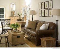 An Urban Cottage: Living Room Inspiration