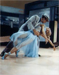 Cyd Charisse and Fred Astaire in ''Band Wagon''  1953