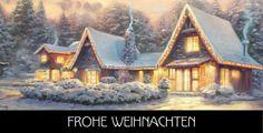 10 Stk. Weihnachtskarten mit Kunstmotiven