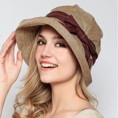 Elegance lladies bucket hats with bow decoration summer hats beach wear Mens Bucket Hats, Summer Hats For Women, Crazy Hats, Stylish Hats, Love Hat, Cool Hats, Kids Hats, Women's Summer Fashion, Sun Hats