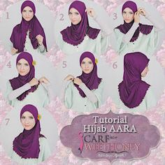 Scarf is that the factor which supplies confidence and power to face the challenges within the world. Scarf invariably offers boost power for ladies to try Pashmina Hijab Tutorial, Scarf Tutorial, Hijab Wedding Dresses, Hijab Bride, Simple Hijab Tutorial, Instant Hijab, Sewing Sleeves, Stylish Hijab, Turban Hijab