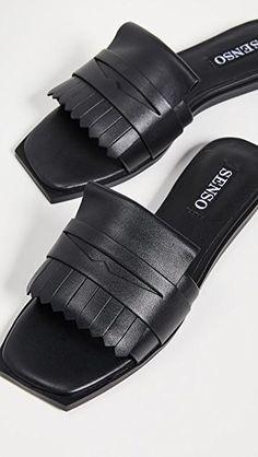 Senso Shoes, Comfortable Mens Dress Shoes, Leather Sandals Flat, Womens Slippers, Shoe Collection, Fashion Shoes, Ladies Sandals, Swat, Envy