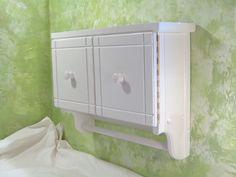 White Wall Bathroom Cabinet