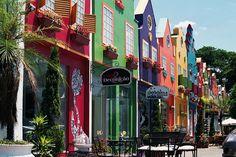 Holambra – SP  A cidade mais holandesa do Brasil é também campeã na produção de flores. É na cidade que encontra-se o maior moinho da América Latina.