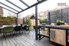 Från tråkig och kaklad trädgård till höftträdgård i NYC-atmo Back Gardens, Small Gardens, Outdoor Spaces, Outdoor Living, Outdoor Decor, Yard Design, Balcony Garden, Garden Inspiration, Style Inspiration