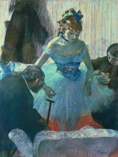 Dancer in Her Dressing Room - Edgar Degas