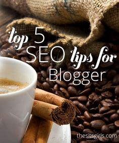 If you are blogging on the blogger platform, here are the top 5 SEO tips for helping your blog to be found in search. All easy to do, even for beginning bloggers.