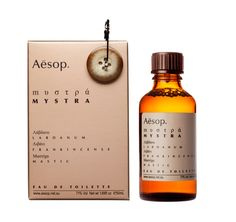 Aesop perfume - tracked out