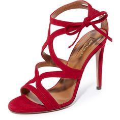 a339801c61dd Aquazzura Aurelie 105 Sandals ( 785) ❤ liked on Polyvore featuring shoes