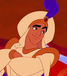Day 4 Favorite Disney Prince : Prince Ali... Well Aladdin. For as long as I could remember I've been I love with Aladdin. He's charming, would do anything and be anyone for love (not the best way to start a relationship, yes) but he ultimately has a heart of gold. He's got sixty elephants, llamas galore, with his bears and lions, a brass band and more. A genie! And a magic carpet. Need I say more?