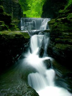 Ithaca, NY - city of gorges, a must go in the summertime (wine country as well)