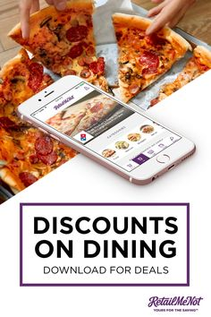 Download the free RetailMeNot app and never forget another coupon again. Whether you're hungry for food deals or looking for in-store offers while shopping, RetailMeNot finds all the best deals for you! Download the app to get started.