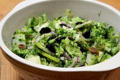 Broccoli and Apple Slaw