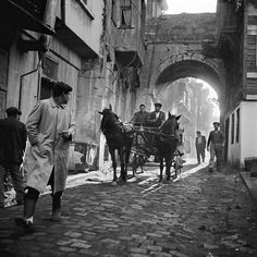 European photographic research tour exhibition: 'Ara Güler: Two Archives, One Selection: Tracing Ara Güler's Footsteps in Istanbul' at the Istanbul Museum of Modern Art Modern Photography, Black And White Photography, Street Photography, Fashion Photography, Bulgaria, Paris Match, Hagia Sophia, Magnum Photos, Ansel Adams