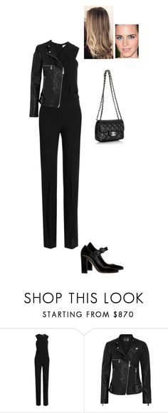 """Sem título #7448"" by gracebeckett ❤ liked on Polyvore featuring Victoria, Victoria Beckham, McQ by Alexander McQueen, Gianvito Rossi and Chanel"
