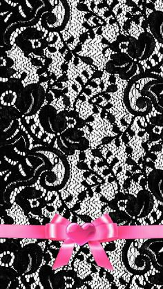 By Artist Unknown. Lace Wallpaper, Wallpaper Iphone Cute, Cellphone Wallpaper, Pattern Wallpaper, Wallpaper Backgrounds, Wallpaper Size, Iphone Backgrounds, Iphone Hintegründe, Black And White Background