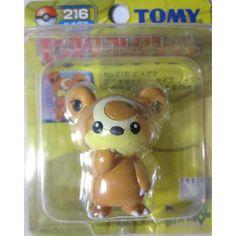 Pokemon 2004 Teddiursa Tomy 2 Monster Collection Plastic Figure #216