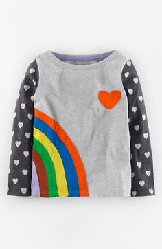 Mini Boden 'Retro Hotchpotch' Tee (Toddler Girls, Little Girls & Big Girls) available at #Nordstrom