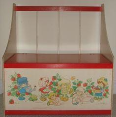 Strawberry Shortcake Toybox...Just like mine