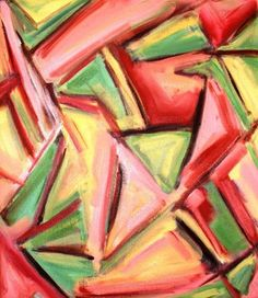 Abstract Modern Art Oil Painting Contemporary by kzannoart on Etsy, $295.00