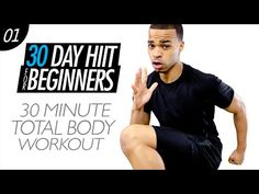 30 Min. Total Body Cardio HIIT Workout for Beginners - 30 Day Challenge | Beginner HIIT #01 - YouTube