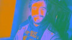 """""""Mi  Gimp-retrato"""". Práctica 1. Ejercicio 10. Modo RGB. Mapa alienígena."""