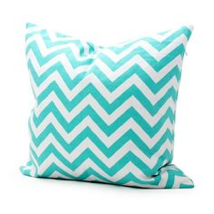 Lavievert Decorative Cotton Canvas Square Throw Pillow Cover Cushion Case Handmade White and Light Blue Chevron Stripe Toss Pillowcase with Hidden Zipper Closure (For Living Room, Sofa, Etc... Fit a 16 X 16 Inches Insert) Lavievert http://www.amazon.co.uk/dp/B00EJBWN88/ref=cm_sw_r_pi_dp_NQHsub1KNC7GS
