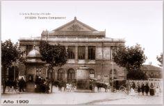 Teatro Campoamor. Taj Mahal, Building, Vintage, Oviedo, Wanderlust, Old Photography, Antique Photos, Cities, Fotografia