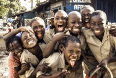 Conakry, Guinea - Kids on school break by Tiago Caramuru on 500px