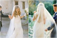 long veil with hair down | Back to Post :Latest Wedding Hairstyles Half Up With Veil Amazing