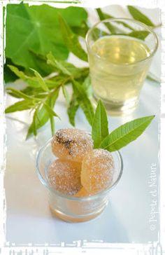 pâtes de fruits au cédrat et à la verveine citronnelle © Popote et Nature