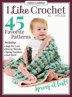 Crochet Pattern: Georgie Hat and Booties Set Moogly Crochet, One Skein Crochet, Quick Crochet, Crochet Shawl, Double Crochet, Single Crochet, Crochet Stitches, Free Crochet, Crochet Dolls